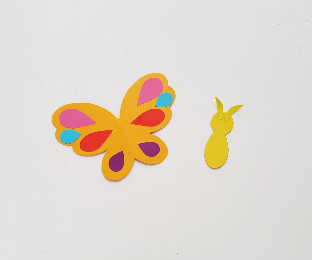 Make a Butterfly Bookmark Corner